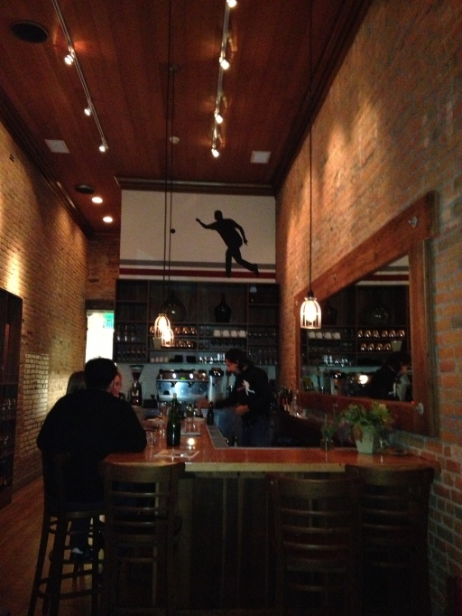 interior of campo fina restaurant, healdsburg, california, the best dress up