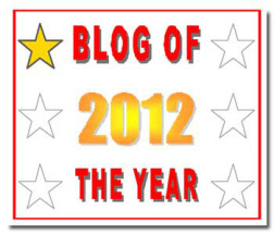 blogger of the year award