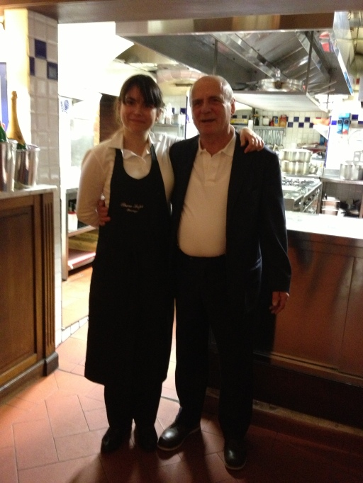 buca lapi restaurant, chiara and luciabo ghinassi, florence italy, the best dress up