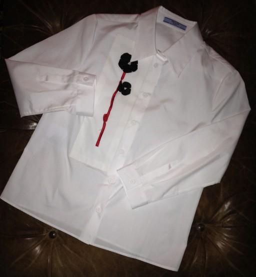 prada, prada spring 2013, prada white shirt, flower shirt, the best dress up