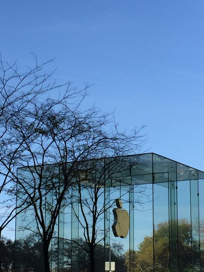 apple store, apple, new york city, 5the avenue,